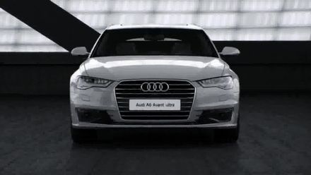 Audi A6 Matrix LED - animacja