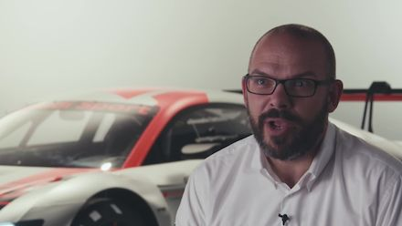 The new evolution of the Audi R8 LMS - Footage