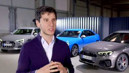 Audi A4 Interview Exterior Design