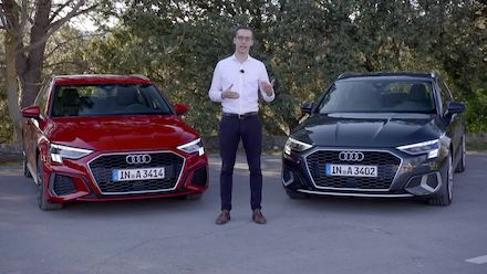 Audi A3 Sportback – lighting technology (Footage)