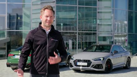 Audi RS 5 - product marketing (Footage)
