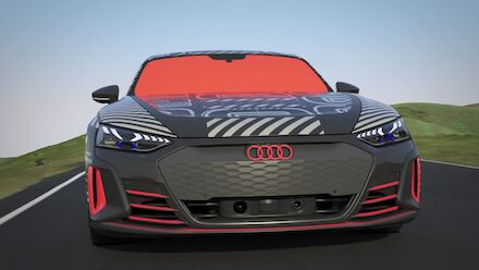 Animation: Audi e-tron GT prototype - Thermal management: drive