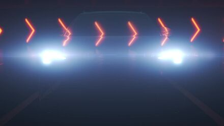 Animation: Audi Q4 e-tron - Augmented Reality Head-Up-Display