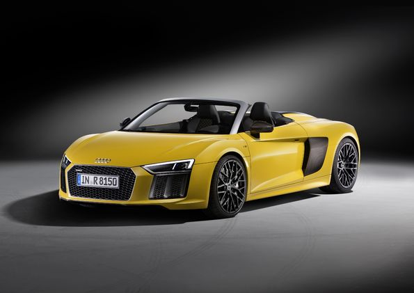 Nowe Audi R8 Spyder V10: premiera na New York International Auto Show