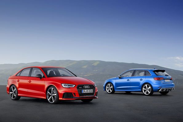 Audi RS 3 Limousine i RS 3 Sportback - dynamiczny duet